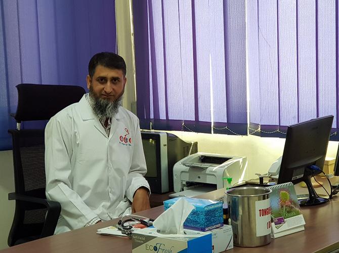 Dr  Inayat U Rehman – Al Farhan Medical Center Baniyas, AbuDhabi